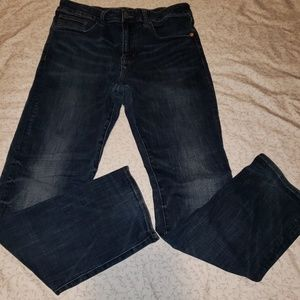 AEO   Men's relaxed straight jeans